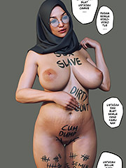 Sex slave, dirty cunt, cum dump, semen bank, whore - Blackmailing Teacher by Hijabophilia